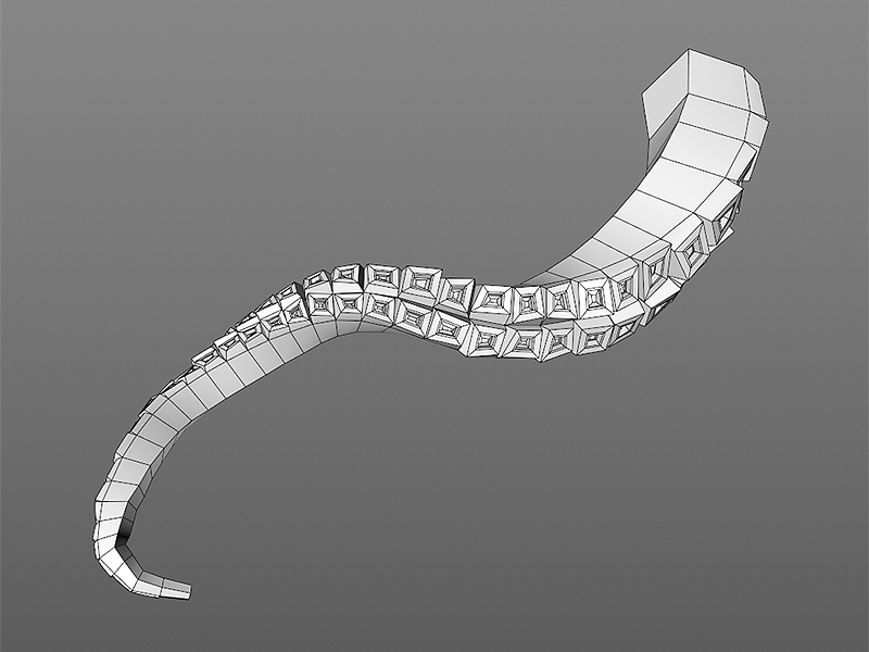 Extruded